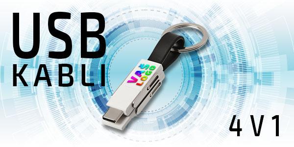 USB kabli 4v1